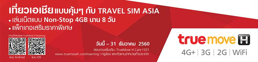 True Travel Sim Asia